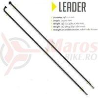 Spita Sapim Leader,neagra 2.0x228mm