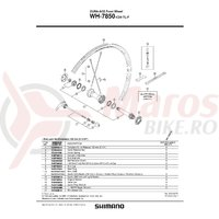 Spita Shimano WH-7850-SL-F 282mm + Capat/Saiba