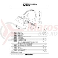 Spita Shimano WH-M785-R-29 301mm Include Capat/Saiba