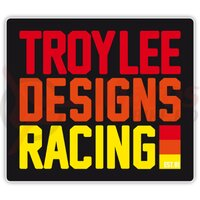 Sticker Troy Lee Designs Pre Mix 86 Red Orange