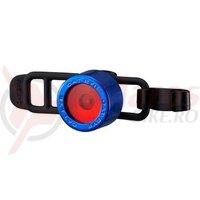 Stop cu baterii Cateye SL-LD135-R Nima 2 chrome/blue