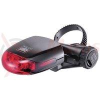 Stop cu baterii Cateye TL-LD270-R incl. baterii rosu