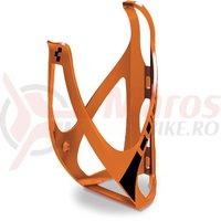 Suport bidon Cube HPP portocaliu/negru mat