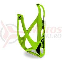 Suport bidon Cube HPP verde/negru mat