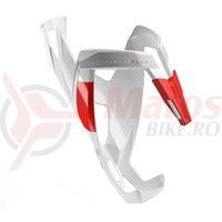 Suport bidon Elite Custom Race Plus alb/rosu