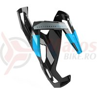 Suport bidon Elite Custom Race Plus negru/albastru
