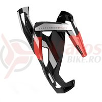 Suport bidon Elite Custom Race Plus negru/rosu