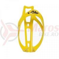 Suport bidonas Roto X-One (9912.50) plastic galben