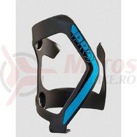 Suport de bidon Pro Side Cage lateral stanga negru/albastru