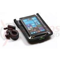 Suport telefon pentru ghidon Bikefun Router Touch Aqua smartphone