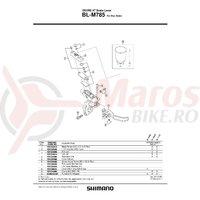 Surub aerisire & O-Ring Shimano BL-M785