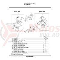 Suruburi pentru colier Shimano ST-M770 M6x14.8