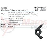 TL-FC22 cheie Shimano hexalobular T-40