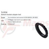 TL-FC24 cheie Shimano pentru montat/demontat cuvete butuc pedalier (SM-BB9000)