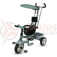 Tricicleta DHS Scooter Plus multifunctionala verde