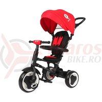 Tricicleta pliabila pentru copii QPlay Rito rosie