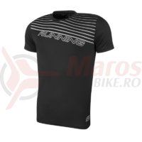 Tricou alergare Force Running negru