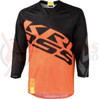 Tricou barbat enduro 3/4 Kross Hyde orange
