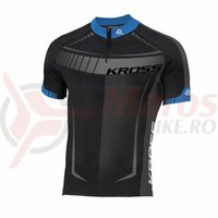 Tricou barbat Kross Black Edition black