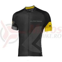 Tricou barbat Kross Race yellow
