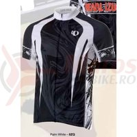 Tricou barbati elite MTB LTD Pearl Izumi ride mountains palm white