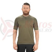 Tricou ciclism Cube AM S/S olive