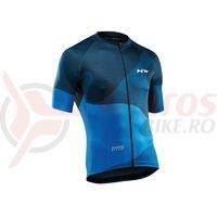 Tricou ciclism NORTHWAVE BLADE 4 albastru