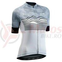 Tricou ciclism Northwave Blade WMN white/black