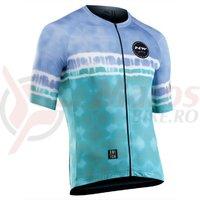 Tricou ciclism Northwave Ocean blue