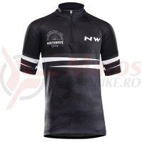 Tricou ciclism Northwave Origin Junior negru