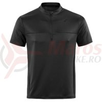 Tricou ciclism Square jersey active S/S black