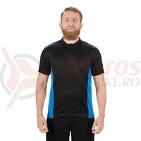 Tricou ciclism Square Performance S/S albastru/negru