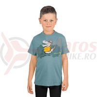 Tricou Cube Junior T-Shirt Dino dark mint