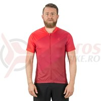 Tricou Cube Tour Full Zip rosu