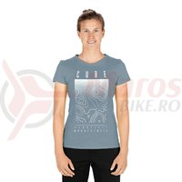 Tricou Cube WS T-Shirt Fichtelmountains dark mint