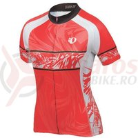 Tricou Elite LTD femei Pearl Izumi ride red splash