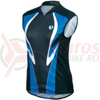 Tricou fara maneci select LTD femei Pearl Izumi ride blue racer