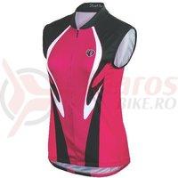 Tricou fara maneci select LTD femei Pearl Izumi ride pink racer