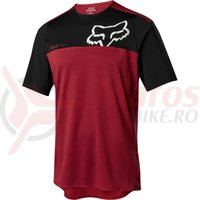 Tricou Fox Attack Pro SS jersey red/blk