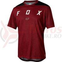 Tricou Fox Indicator SS Mash Camo jersey drk red