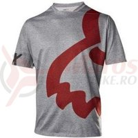 Tricou Fox MTB-Jersey Indicar SS Eyecon Jersey Heather grey