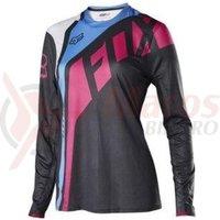 Tricou Fox MTB-Jersey Womens Flexair Seca LS jersey fucsia
