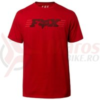 Tricou Fox Muffler SS Tee crdnl red