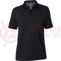 Tricou Fox Redplate 360 SS Tech Polo black
