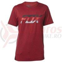 Tricou Fox Seca Splice SS Tee heather red