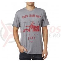 Tricou Fox Wicken SS Tee heather graphite