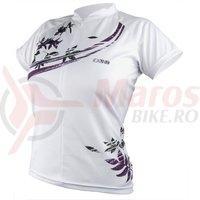 Tricou iXS Shuniah Lady MTB-Comp white-purple