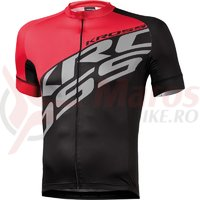 Tricou Kross Rubble black-red
