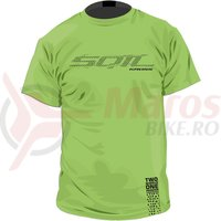 Tricou Kross Tee lime