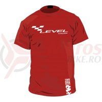 Tricou Kross Tee red